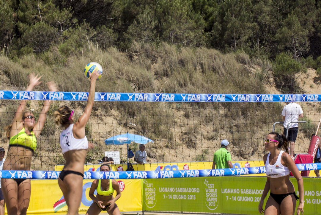 , AIC al 4° CSIT World Sports Games di Lignano Sabbiadoro: foto e interviste